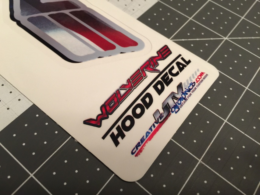 Yamaha Wolverine American Hood And Roof Graphic Kit