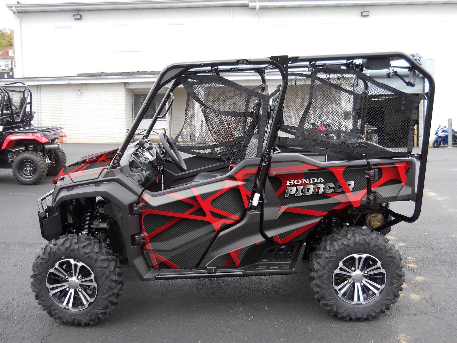 Blackhawk Graphic Kit Design For A Honda Pioneer
